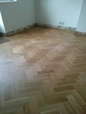 Wood block parquet fitted and supplied by carpet style ltd watford and northwood hills