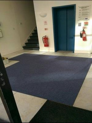 carpet styl supply and install carpet tiles by distinctive flooring in two offices and lobby in harrow on the hill
