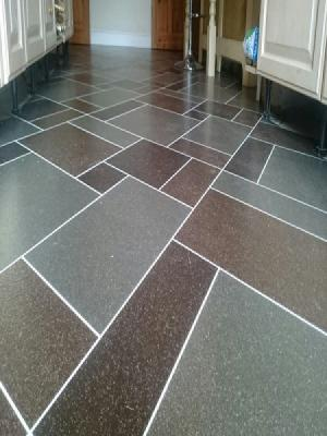 Amtico signature flagstone design supplied and installed in Watford by carpetstyle