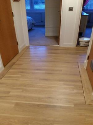 Amtico spacia eden oak supplied and installed in Rickmansworth by carpet style