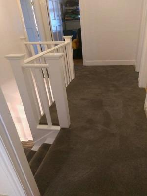 victoria carpets soft touch first impressions supplied by carpet style and installed in hillingdon, carpet runner